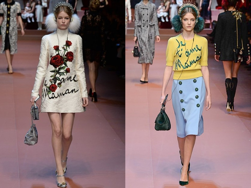 Labellecrush-Dolce&gabbana MFW02