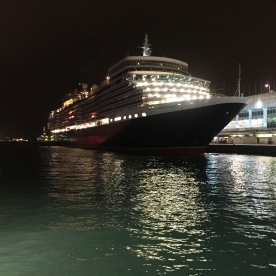 The Queen Elizabeth II cruise liner