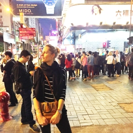 Night life on Nathan Road