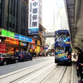 ... by tram